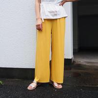 shirring pants (YEL)
