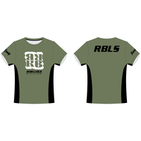 RBLS SQ LOGO DRY S/S TEE