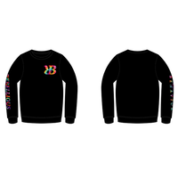 I.H TIE DYE CREW NECK SWEAT