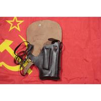 ソ連製 革製 マカロフ PB サイレンサー ホルスター ランヤード+クリーニングロッド付き