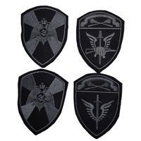 ロシア国家親衛隊 Rosgvardia (VV) モスクワ地方 袖パッチセット シルバー