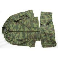 ロシア連邦軍 官給品 実物 フローラ迷彩服  上下セット
