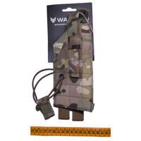 Wartech製 HP-101 中型拳銃用ホルスター マルチカム迷彩