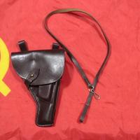 ソ連製 革製 トカレフ ホルスター ランヤード+クリーニングロッド付き