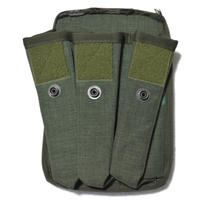 FSB放出 官給品 FORT製 SR-2/Kedr サブマシンガンマガジンポーチ  エメラルド  改造品