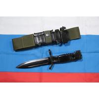 Alfa Arms製 6kh9-1銃剣 フルラバーレプリカ Molleホルダー付き