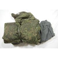 ロシア連邦軍 官給品 BTK-Group製 デジタルフローラ迷彩 寝袋 シュラフ