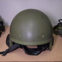 実物 Classcom製 ZSh-1 ヘルメット ネックガード付き 美品