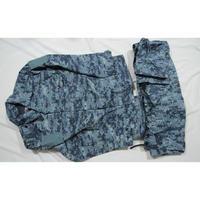 OMON放出 実物 官給品 デジタルBlue Kamysh迷彩 戦闘服上下セット サイズ52-3