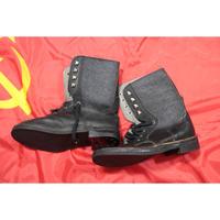 初期ロシア製 実物 キルザ製 編み上げブーツ 1993年規格