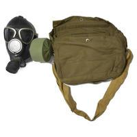 ロシア製 実物 PMK-1  ガスマスク バッグ付き