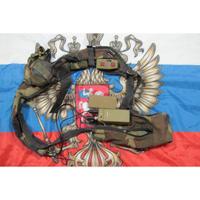 ロシア連邦軍 フローラ迷彩 R-168-0,1 UM 無線機ヘッドセット 無可動