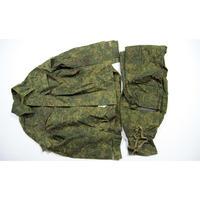 内務省官給品 Russkiy tekstil製 デジタルフローラ迷彩 戦闘服 上下