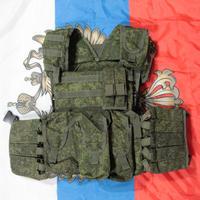 ロシア連邦軍 官給品 6b46 ボディーアーマー ケヴラー/ポーチ付き
