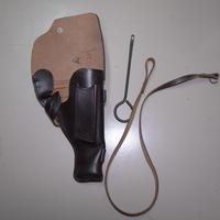 ロシア製 革 2001年製 トカレフ ホルスター ランヤード+クリーニングロッド付き