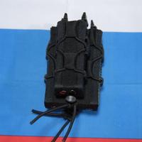 PGS製 黒 AK74+ハンドガン Tacoマガジンポーチ Molle