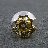 【3/26更新】カメレオンダイヤモンド 0.186ctルース(FANCY GRAY GREENISH YELLOW, SI1)