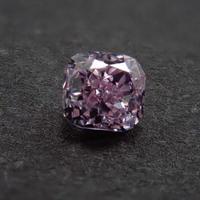 【2/19更新】ピンクダイヤモンド 0.100ctルース(FANCY PURPLE PINK, SI2)
