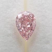 【8/9掲載】ピンクダイヤモンド 0.111ctルース(FANCY ORANGY PINK, I1)