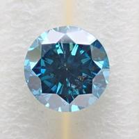 【9/30更新】ブルーダイヤモンド (トリートメント) 0.304ctルース(Treted FANCY DEEP GREEN BLUE, I1)