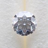 【7/4掲載】ダイヤモンド 0.126ctルース(D, SI1, 3Excellent H&C)