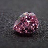 【12/7掲載】ピンクダイヤモンド 0.033ctルース(FANCY PINK, VS2)