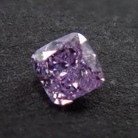 【12/4掲載】パープルダイヤモンド 0.060ctルース(FANCY PURPLE, I1)