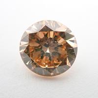 【1/29掲載】ブラウンダイヤモンド 0.730ctルース(FANCY BROWN, SI1)