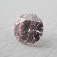【5/18掲載】ピンクダイヤモンド0.092ctルース(Light Pink、SI-2)