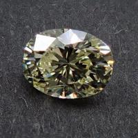 【8/4掲載】イエローダイヤモンド 0.306ctルース(VERY LIGHT YELLOW, VS1)