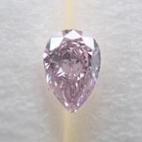 【7/20更新】ピンクダイヤモンド 0.059ctルース(FANCY LIGHT PURPLISH PINK, SI1)