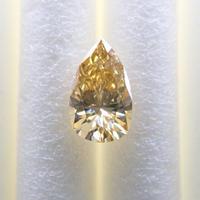 【1/13更新】イエローダイヤモンド 0.243ctルース(FANCY DEEP YELLOW, SI2)