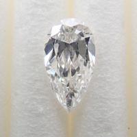 【8/3掲載】ダイヤモンド 0.256ctルース(F, SI2, ペアシェイプ,蛍光性MB)