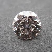 【5/10更新】ピンクブラウンダイヤモンド 0.170ctルース(LIGHT PINK BROWN, SI2)