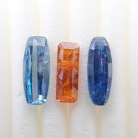 【9/20掲載】カイヤナイト 2.279ct 3石セット