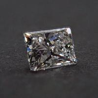 【4/23掲載】ダイヤモンド 0.154ctルース(H, SI1,プリンセスカット)