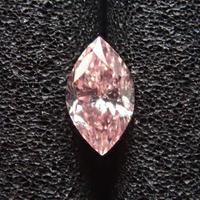 【1/26更新】ピンクダイヤモンド 0.153ctルース(FANCY PINK, SI2)