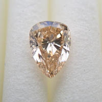 【11/7更新】イエローダイヤモンド 0.372ctルース(LIGHT BROWNISH ORANGE YELLOW, VS1)