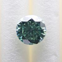 【1/30掲載】グリーニッシュブルーダイヤモンド 0.293ctルース(トリートメント)