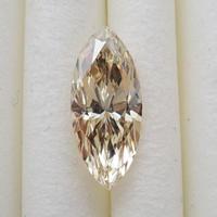 【11/1掲載】イエローダイヤモンド 0.875ctルース(LIGHT BROWNISH YELLOW, VS1)