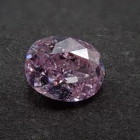 【1/27掲載】ピンクダイヤモンド 0.164ctルース(FANCY PURPLISH PINK   , I1)