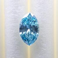 【1/17掲載】ブルーダイヤモンド 0.221ctルース(トリートメント)