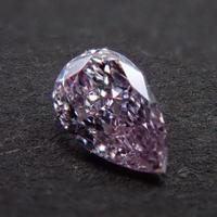 【1/31更新】ピンクダイヤモンド 0.084ctルース(FANCY LIGHT PURPLE PINK, SI1)