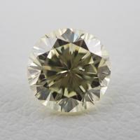 【5/18掲載】イエローダイヤモンド0.622ctルース(Faint Yellow,SI1)