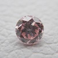 【7/3掲載】ピンクダイヤモンド0.046ctルース(FANCY LIGHT PINK)