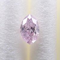 【2/15掲載】ピンクダイヤモンド 0.172ctルース(FANCY LIGHT PURPLE PINK, I2)