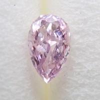 【10/12掲載】パープルダイヤモンド 0.069ctルース(FANCY PINKISH PURPLE, SI2)