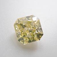 【6/7掲載】イエローダイヤモンド 0.341ctルース(FANCY YELLOW, SI2)