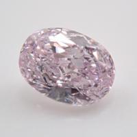 【9/30更新】ピンクダイヤモンド 0.133ctルース(FANCY LIGHT PURPLE PINK   , SI1)