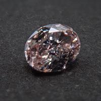【1/13更新】ピンクダイヤモンド 0.194ctルース(FANCY LIGHT ORANGY PINK, VS2)